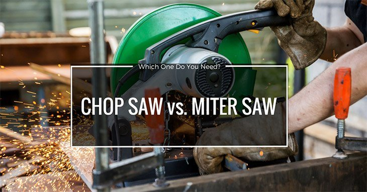 chop saw vs. miter saw