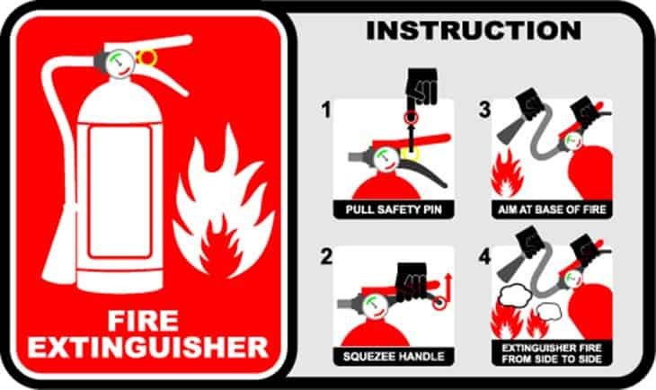 Be Alert and Prepared in Case of Fire