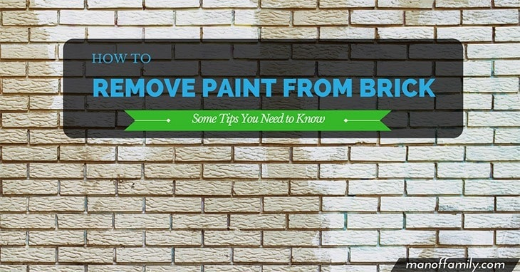 how to remove paint from brick