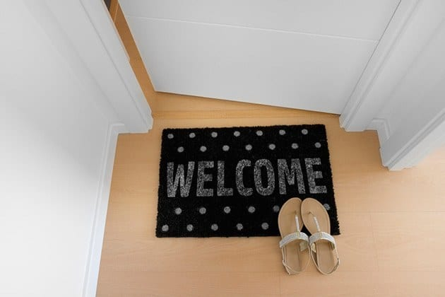 choose the right doormat
