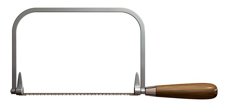 types of saws - coping saw