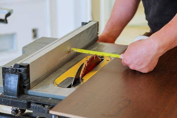 types of saws - table saw
