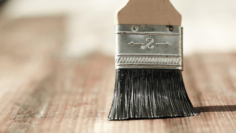 best brush - minwax wood finish