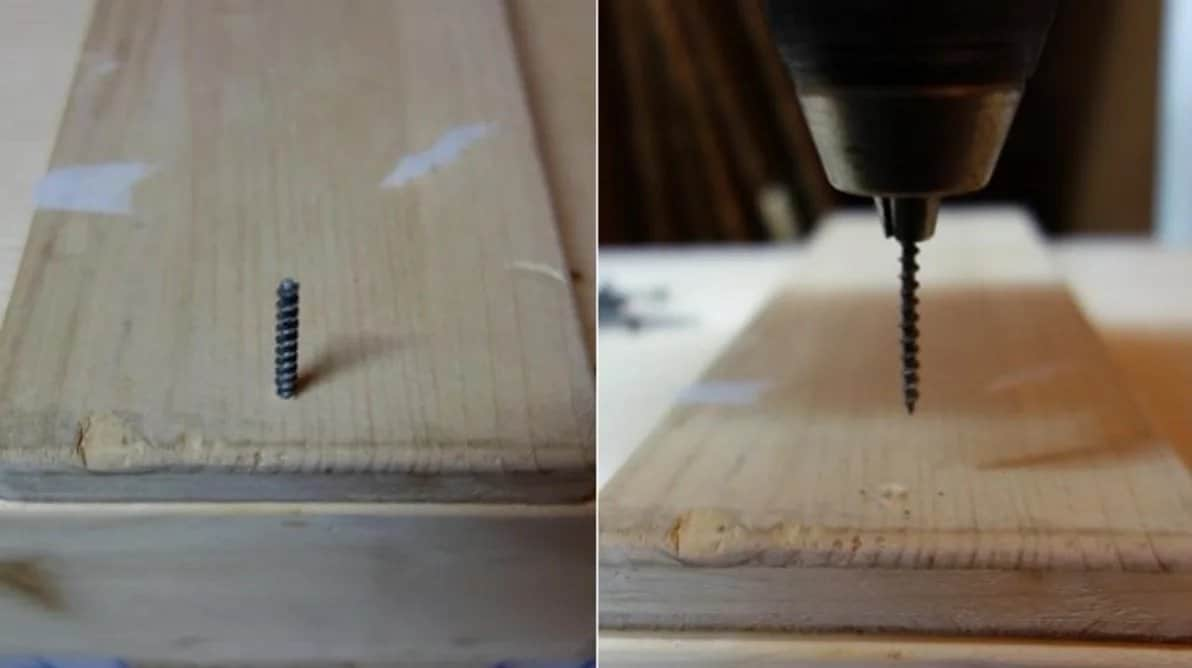 remove damaged screw using drill chuck