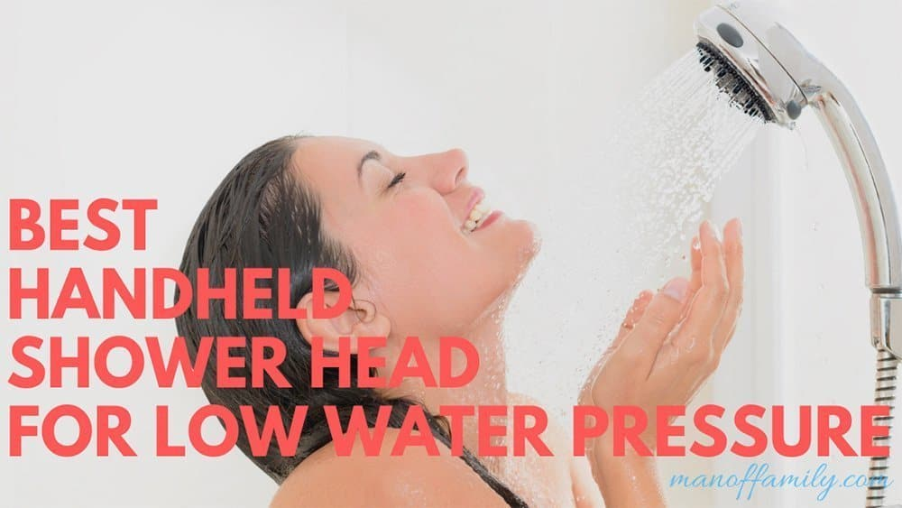 Top Handheld Shower Head for Low Water Pressure